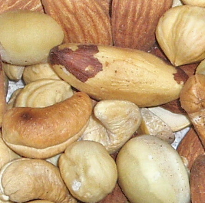 mixed nuts toasted